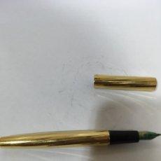 Plumas estilográficas antiguas: PLUMA WATERMAN CHAPADO ORO PLUMIN ORO 750. Lote 133190579