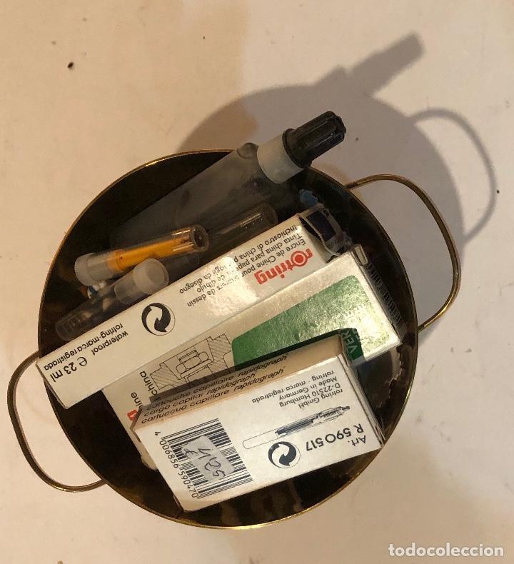 ROTRING-TINTA (3€-UND) (Plumas Estilográficas, Bolígrafos y Plumillas - Plumas)