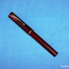 Plumas estilográficas antiguas: PLUMA ESTILOGRAFICA SHEAFFER NO NONSENSE TRANSLUCENT. Lote 133746990