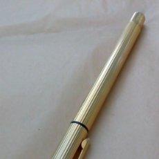Plumas estilográficas antiguas: PLUMA DORADA ´HARRISON´. Lote 133777610