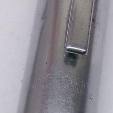 Plumas estilográficas antiguas: PLUMA WATERMAN ACERO. Lote 134373539