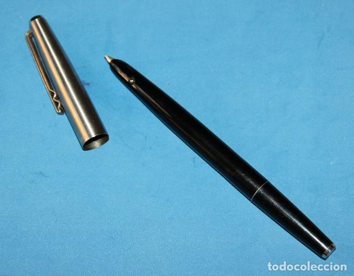 Plumas estilográficas antiguas: DOS PLUMAS ESTILOGRAFICAS SUPER T OLIMPIA - Foto 3 - 135293782