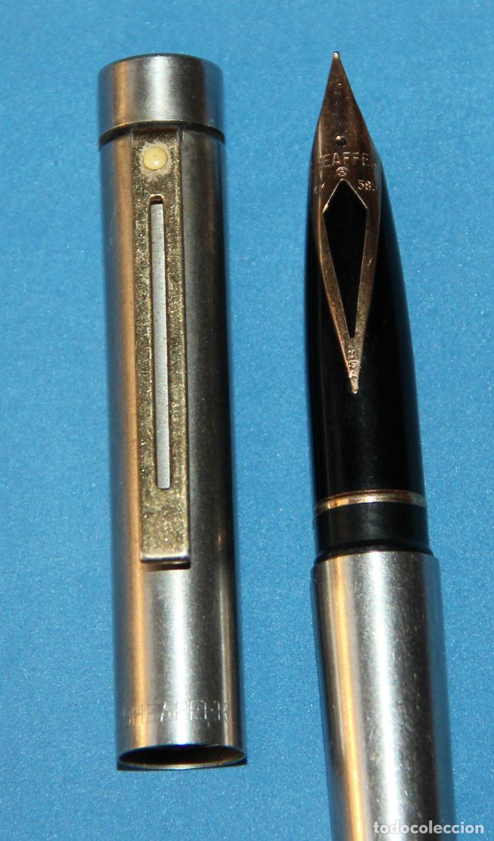 Plumas estilográficas antiguas: PLUMA ESTILOGRAFICA SHEAFFER TARGA - Foto 3 - 135342870
