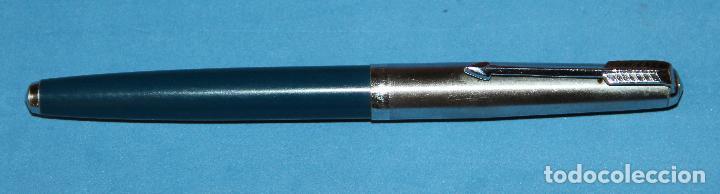 Plumas estilográficas antiguas: ANTIGUA PLUMA ESTILOGRAFICA ESPAÑOLA SIN MARCA VISIBLE - Foto 4 - 135519714