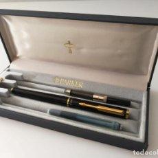 Old Fountain Pens - PLUMA PARKER LAQUE - ESTUCHE, CAJA E INSTRUCCIONES - 139415830