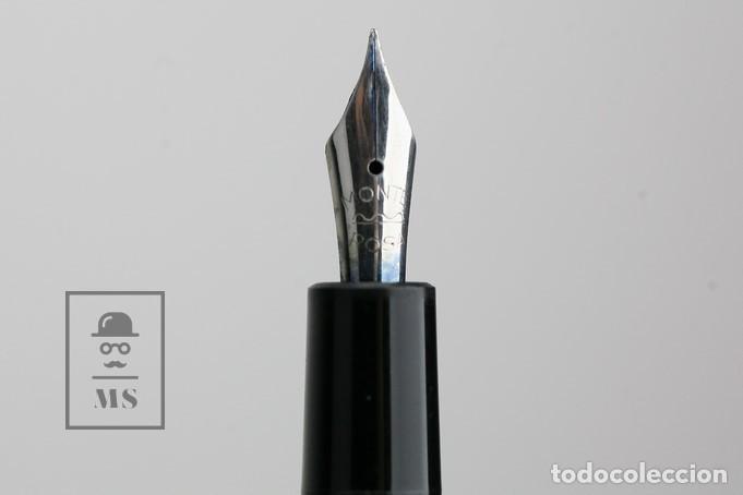 Plumas estilográficas antiguas: Pluma Estilográfica - Montblanc / Monte Rosa - Para Piezas Restauración - 12 cm de Largo - Foto 4 - 140873990