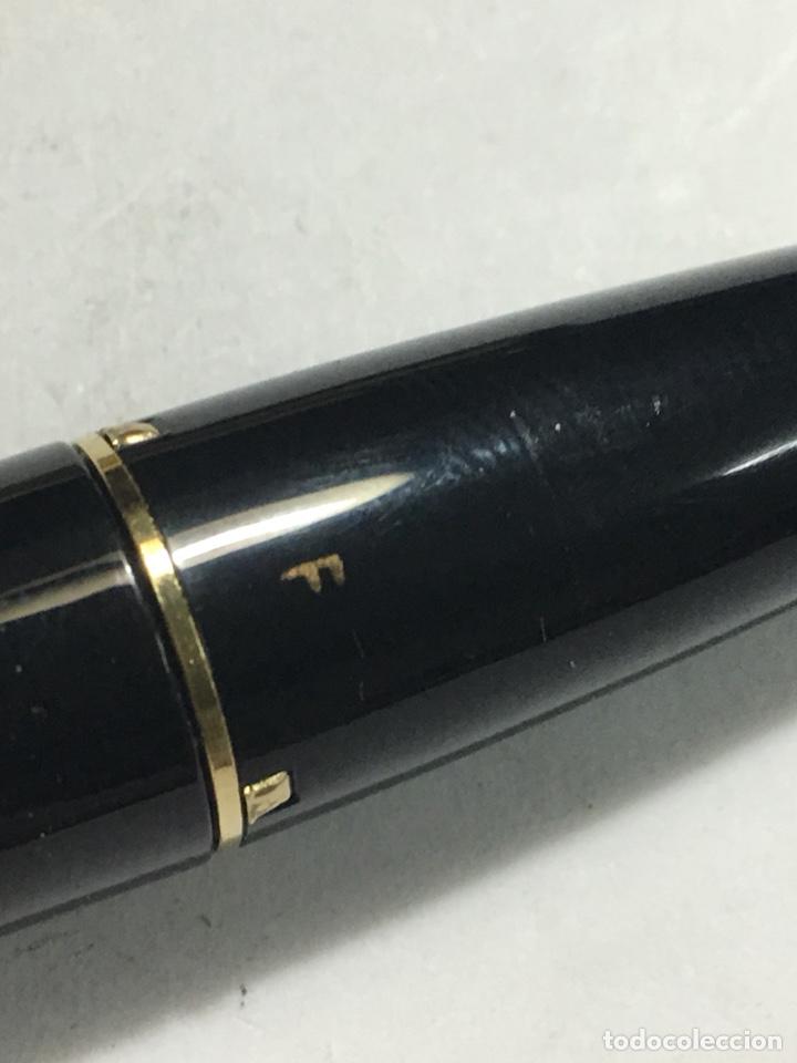 Old Fountain Pens: Pluma Sheaffer Imperial Capuchón chapado oro plumin 18kl F nueva modelo más grande carga pistón - Foto 9 - 142899737
