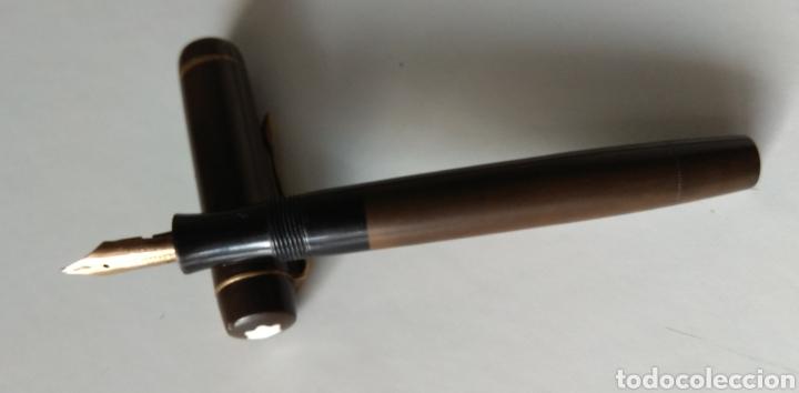 Plumas estilográficas antiguas: PLUMA ESTILOGRÁFICA MONTBLANC - Foto 3 - 143167385