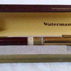 Plumas estilográficas antiguas: WATERMAN'S 515. PLUMÍN WATERMAN'S ORO 14KT. CELULOIDE. USA. AÑOS 40. Lote 143607442