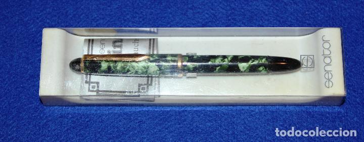 Plumas estilográficas antiguas: PLUMA ESTILOGRAFICA SENATOR WINDSOR - NUEVA - Foto 3 - 154029620