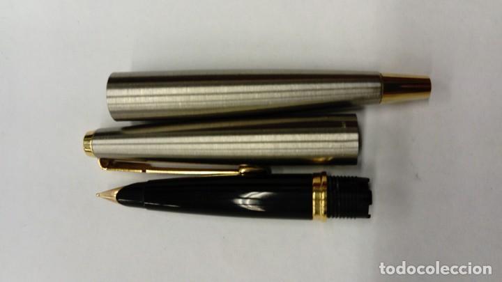 Plumas estilográficas antiguas: Pluma estilográfica Parker 45 Acero y Oro - Foto 5 - 146896766