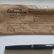 Plumas estilográficas antiguas: MONTBLANC 334 1/2. Lote 147298470