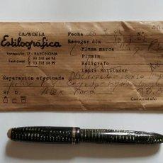 Plumas estilográficas antiguas: ESTILOGRÁFICA PARKER VACUMATIC. Lote 147440966