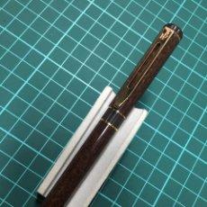 Plumas estilográficas antiguas - Pluma Waterman Centurión Color marrón Marmolado - 147697889