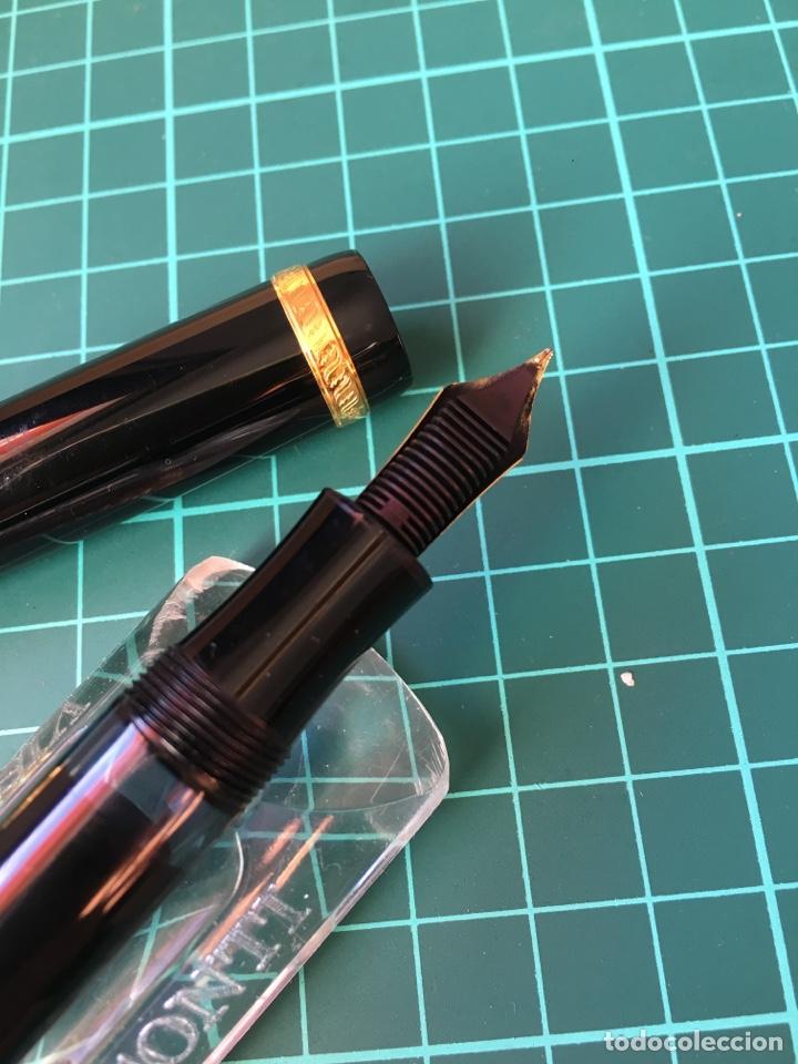 Plumas estilográficas antiguas: Pluma montblanc edición limitada 1995 Voltaire. . - Foto 7 - 147712786