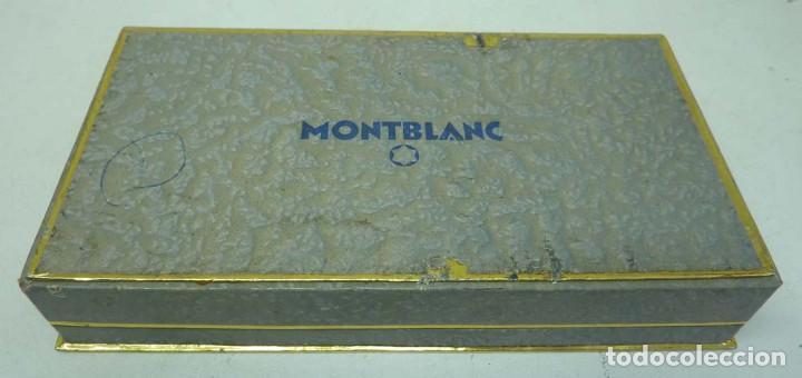CAJA DE PLUMA MONTBLANC AÑOS 60 (Plumas Estilográficas, Bolígrafos y Plumillas - Plumas)