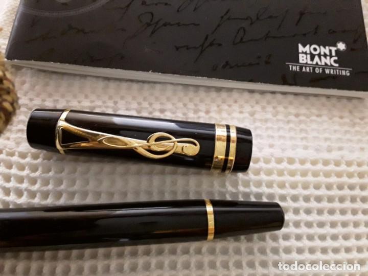 Plumas estilográficas antiguas: Montblanc Estilográfica Meisterstück Leonard Bernstein Fountain pen - Foto 9 - 150824346