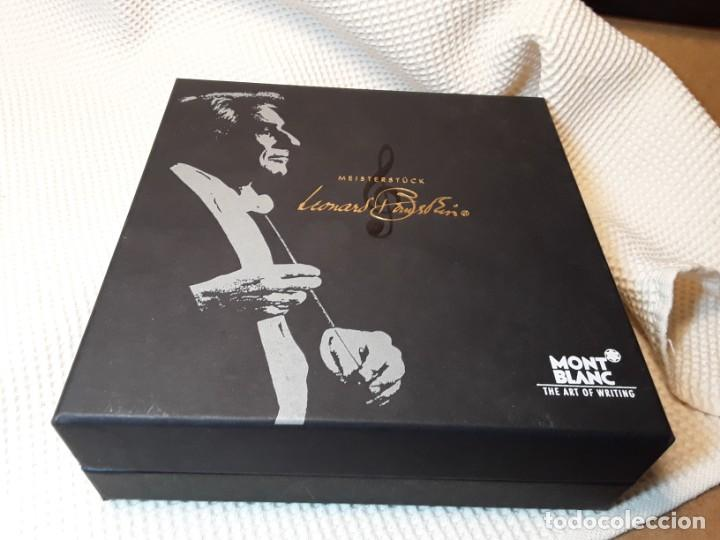 Plumas estilográficas antiguas: Montblanc Estilográfica Meisterstück Leonard Bernstein Fountain pen - Foto 19 - 150824346