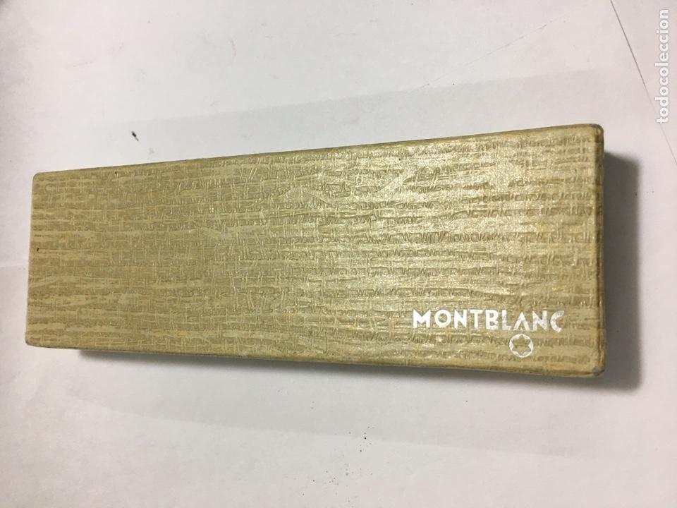 Old Fountain Pens: Pluma Montblanc n30 color gris en su caja antigua muy rara y como nueva - Foto 4 - 150830701