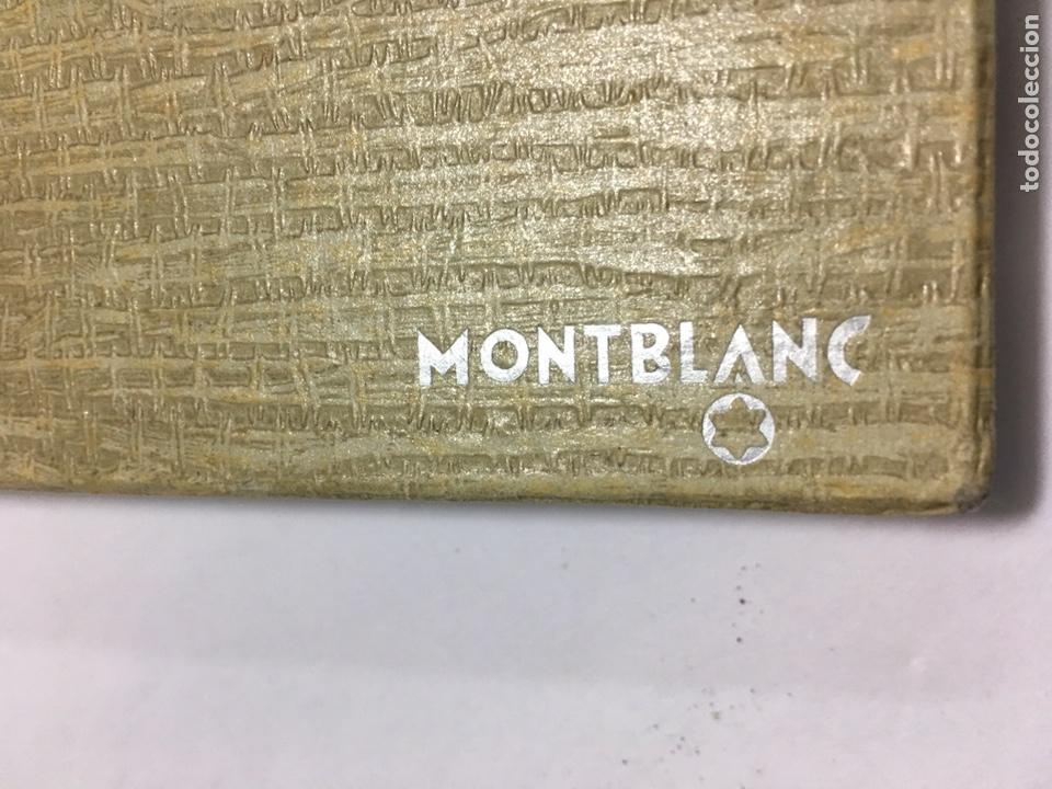 Old Fountain Pens: Pluma Montblanc n30 color gris en su caja antigua muy rara y como nueva - Foto 5 - 150830701
