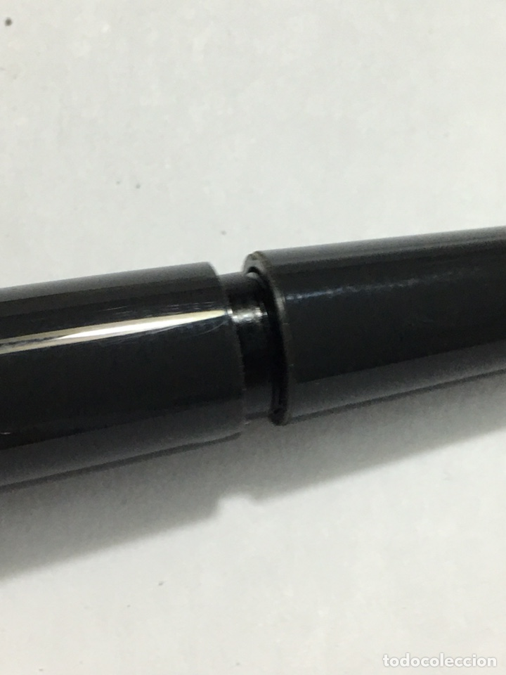 Old Fountain Pens: Pluma Montblanc n30 color gris en su caja antigua muy rara y como nueva - Foto 16 - 150830701