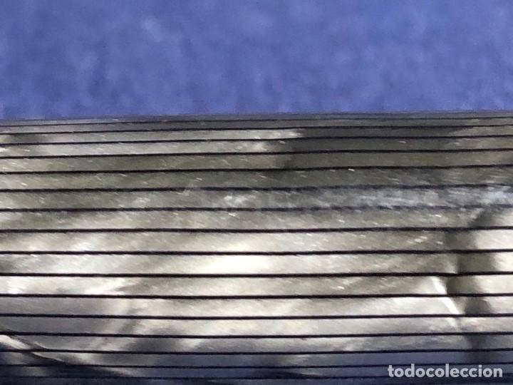 Plumas estilográficas antiguas: PLUMA ESTILOGRAFICA MONT BLANC BAQUELITA ESTRIADA PLATA GRIS ESPAÑA E. WIESE 13CMS - Foto 39 - 150831054