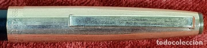 Plumas estilográficas antiguas: PLUMA ESTILOGRÁFICA. SUPER T OLIMPIA. CHAPADO EN ORO DE 14 K. CIRCA 1960. - Foto 6 - 152125082