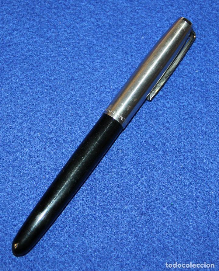 Plumas estilográficas antiguas: ANTIGUA PLUMA ESTILOGRAFICA INOXCROM 66 - Foto 2 - 152460274