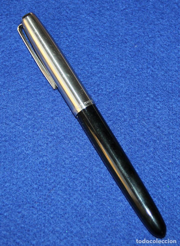 Plumas estilográficas antiguas: ANTIGUA PLUMA ESTILOGRAFICA INOXCROM 66 - Foto 3 - 152460274