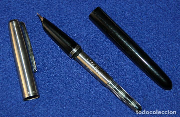 Plumas estilográficas antiguas: ANTIGUA PLUMA ESTILOGRAFICA INOXCROM 66 - Foto 5 - 152460274