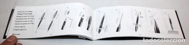 Plumas estilográficas antiguas: PLUMA MONTBLANC MEISTERSTUCK-4810-PLUMIN 14K-585.CON ESTUCHE. - Foto 12 - 152490062