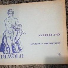 Plumas estilográficas antiguas: DIBUJO LINEAL ARTÍSTICO. Lote 153728242