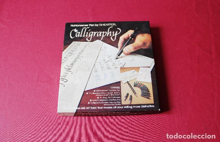 SET SHEAFFER CALLIGRAPHY (Plumas Estilográficas, Bolígrafos y Plumillas - Plumas)
