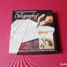 Plumas estilográficas antiguas: SET SHEAFFER CALLIGRAPHY. Lote 153800034