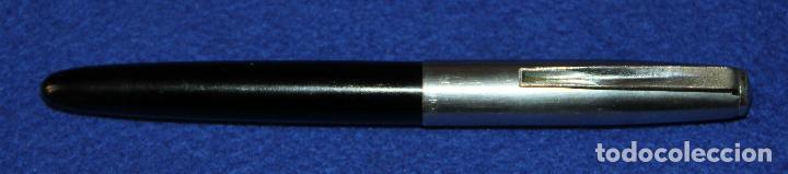 Plumas estilográficas antiguas: ANTIGUA PLUMA ESTILOGRAFICA INOXCROM 66 ORO - Foto 4 - 154190342