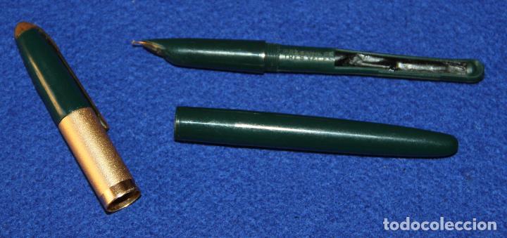 Plumas estilográficas antiguas: ANTIGUA PLUMA ESTILOGRAFICA ESPAÑOLA DERBI - Foto 6 - 154191530