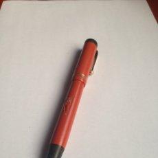 Plumas estilográficas antiguas: PLUMA PARKER DUOFOLD LUCKY CURVE. Lote 154310754