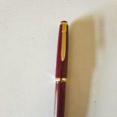 Plumas estilográficas antiguas: PLUMA IRIDIUM BOURDEOS. Lote 154805102
