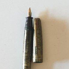 Plumas estilográficas antiguas: PLUMA WARRANTED. Lote 154807126
