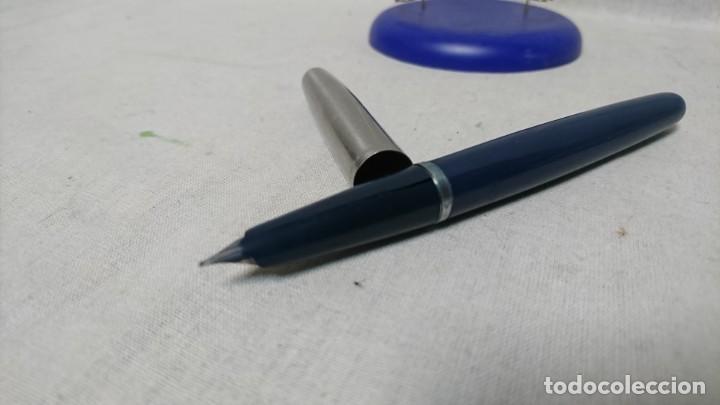 Plumas estilográficas antiguas: PLUMA ESTILOGRÁFICA INOXCROM 55 - Foto 3 - 158609210