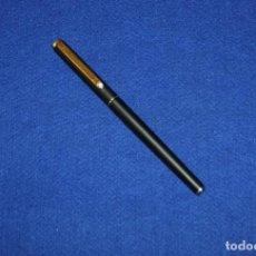 Plumas estilográficas antiguas: MONTBLANC SLIM BLACK. Lote 159670982