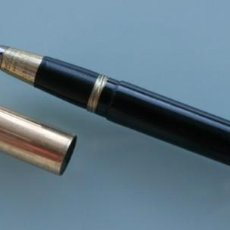Stylos-plume anciens: PLUMA ESTILOGRÁFICA SHEAFFER´S MADE U.S.A. PLUMÍN ORO 14 K. NUMERADA - PESO 20 GR.. Lote 159875550