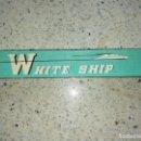 Plumas estilográficas antiguas: ANTIGUA ESTILOGRAFICA MARCA SPECIAL PARA LOS PASAJEROS DEL WHITE SHIP EN DORADO SIN USAR. Lote 160393950