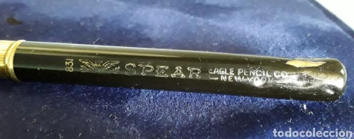 Plumas estilográficas antiguas: Lápiz mecánico, portaminas, Eagle Pencil CO New York (Made in USA), modelo 831 Spear , vintage 1890 - Foto 4 - 163477970