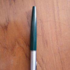Plumas estilográficas antiguas: PLUMA PARKER MADE UN USA VERDE. Lote 164828374