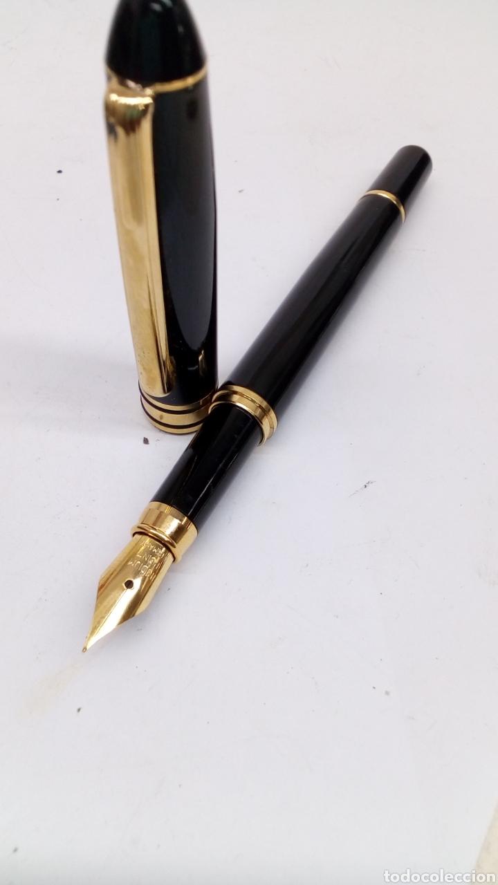 Plumas estilográficas antiguas: Pluma lacado negro - Foto 3 - 171128440
