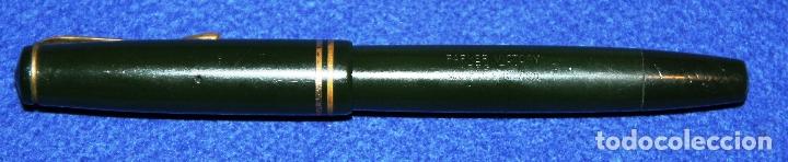 Plumas estilográficas antiguas: ANTIGUA PLUMA ESTILOGRAFICA PARKER VICTORY - Foto 9 - 165667102