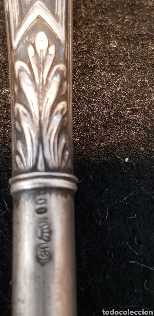 Plumas estilográficas antiguas: Plumin plata - Foto 3 - 167601325