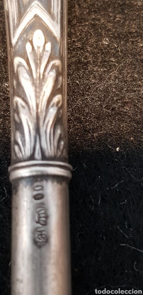 Plumas estilográficas antiguas: Plumin plata - Foto 4 - 167601325