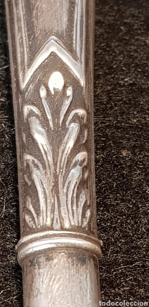 Plumas estilográficas antiguas: Plumin plata - Foto 7 - 167601325